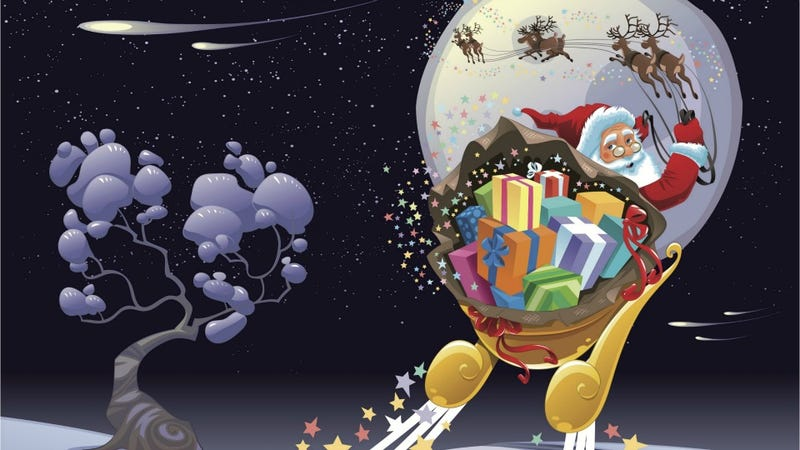 Illustration for article titled Legend of Santa May Have Been Embellished By People Tripping Balls on Mushrooms