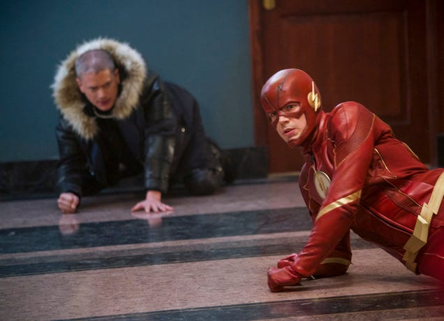 The Flash and friends spend a filler hour getting in touch with their feelings