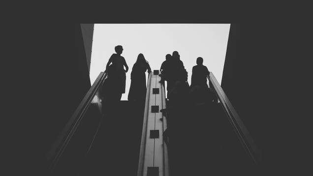 Stop Walking on the Escalator