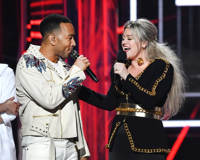"""John Legend and Kelly Clarkson made """"Baby, It's Cold Outside"""" less gross"""