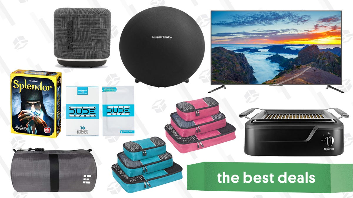 Saturday's Best Deals: eBag Cubes, Splendor, Harmon Kardon Speakers