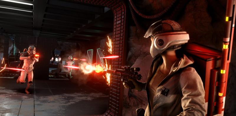 Illustration for article titled Tense Star Wars: Battlefront Duel Ends In Best Way Possible