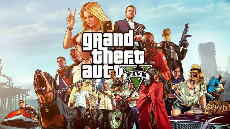 Illustration for article titled GTA V-gyorskritika öt mondatban!!