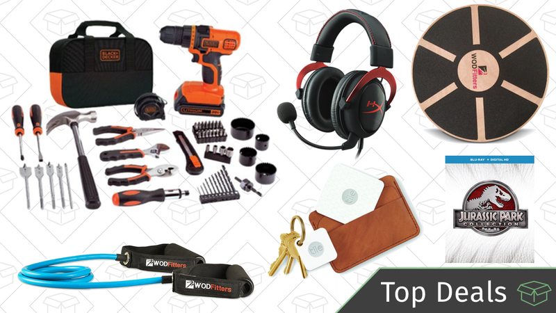 Illustration for article titled Thursday's Top Deals: Fitness Gold Box, Raspberry Pi, Black & Decker Tool Kit, and More