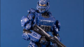 Illustration for article titled Halo 4's Action Figures Are Looking Blue