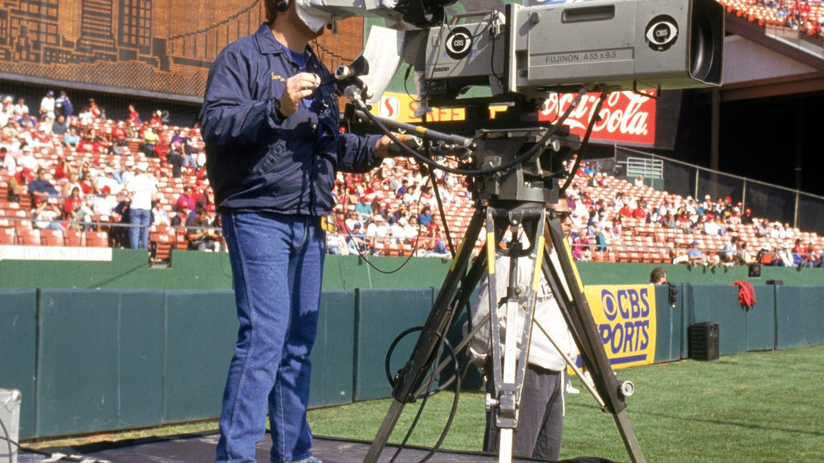 the evolution of the tv camera from football fields to space in 40 steps