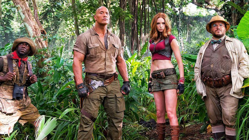 Karen Gillan Promises There's a Reason Her Jumanji Character Is Dressed Like That