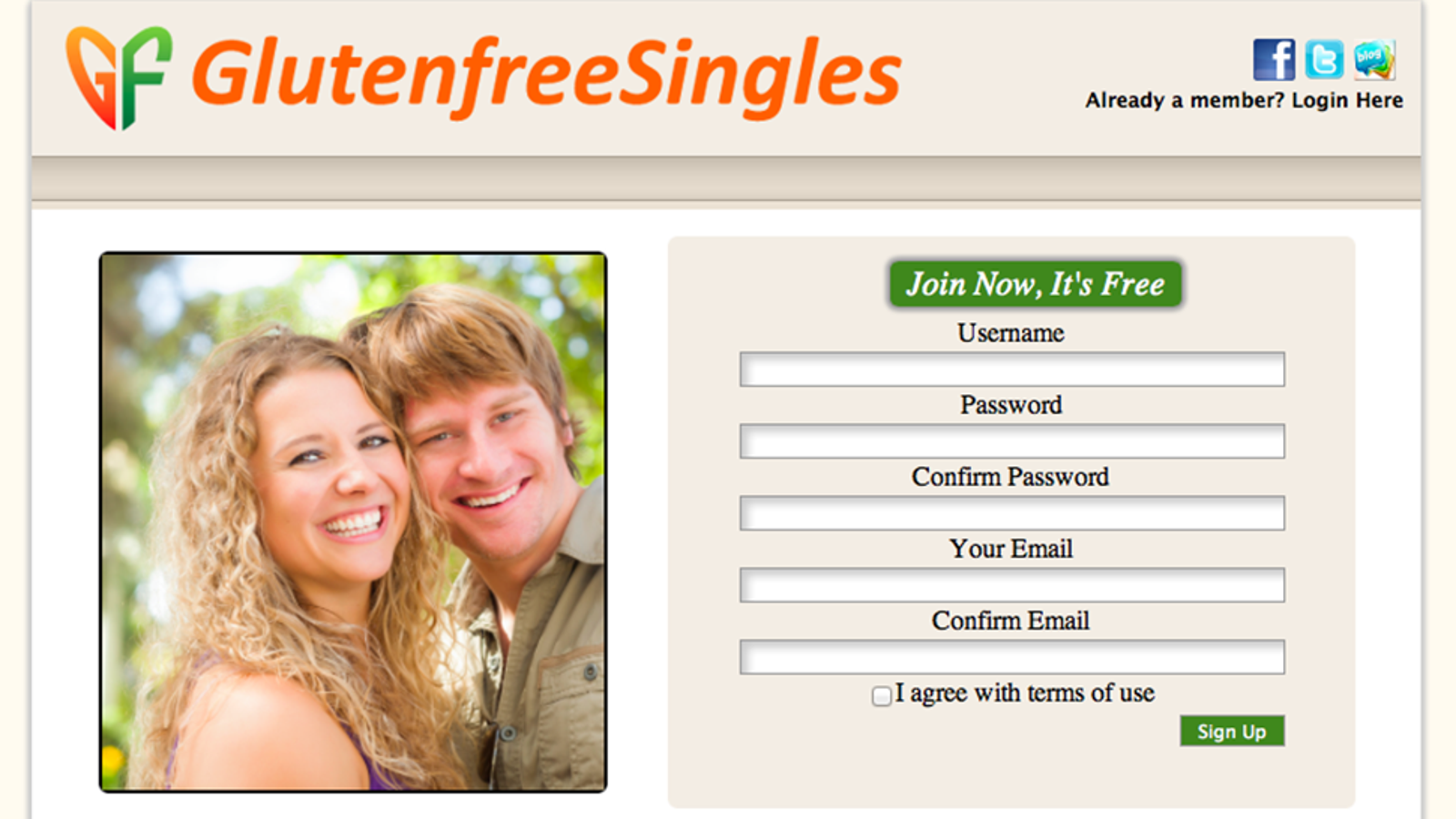 Free online dating sites for young singles