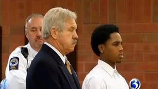 Tarence Mitchell was held on $1 million bond after a Friday court appearance.WFSB-TV