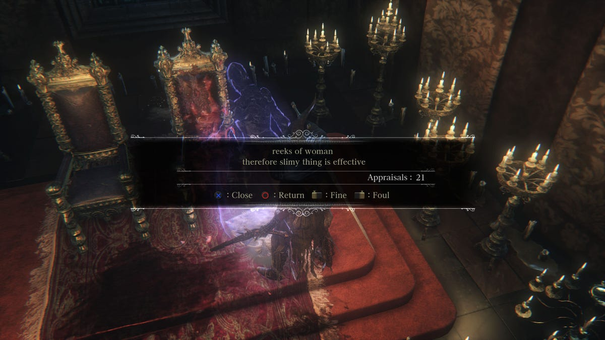 Souls Games Are Great, Except For The Sexist Messages From