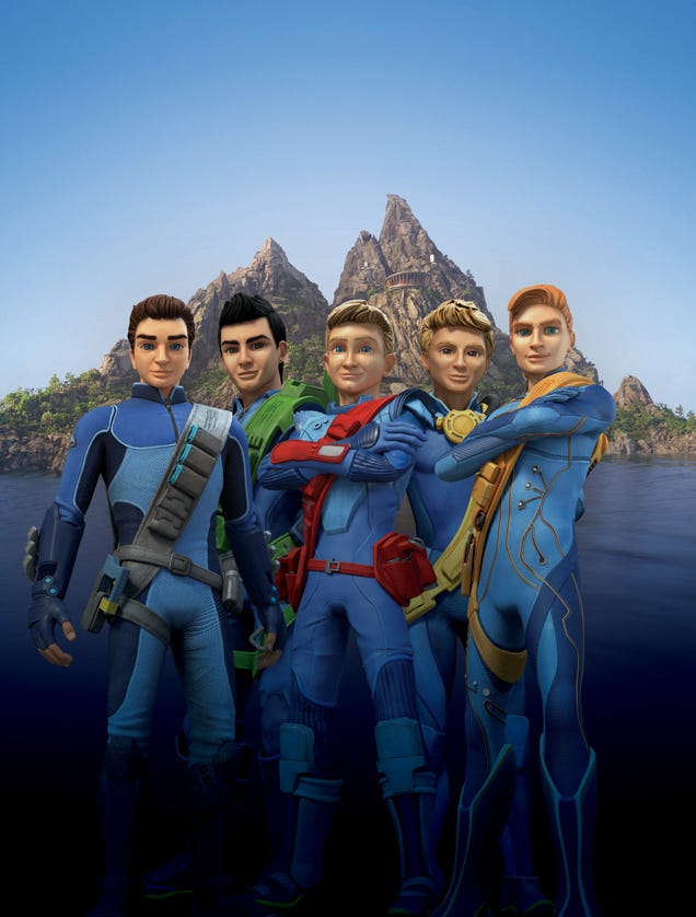 THUNDERBIRDS ARE GO character designs