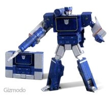 Illustration for article titled Soundwave Transformed into MP3 Player - Just Like We Predicted