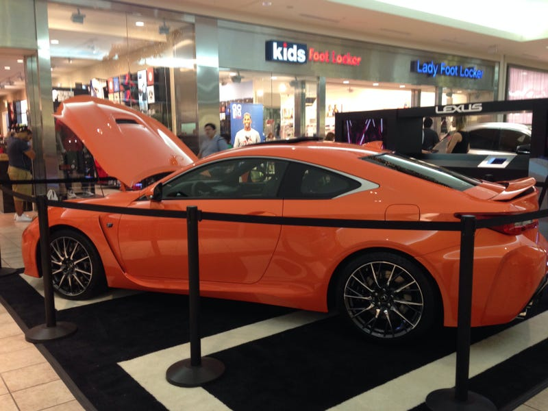 Illustration for article titled Saw An RC-F At The Mall