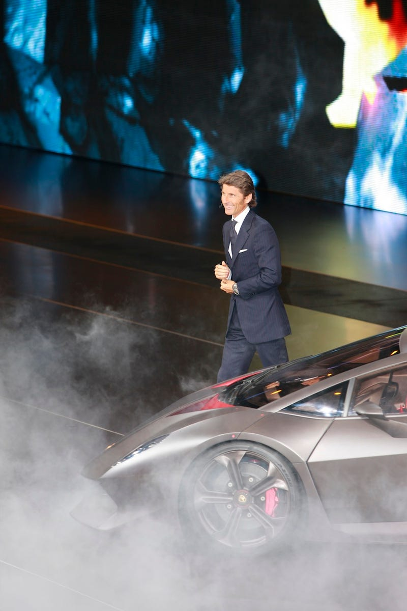 Illustration for article titled Lamborghini Sesto Elemento: Where There's Smoke There's Carbon Fiber