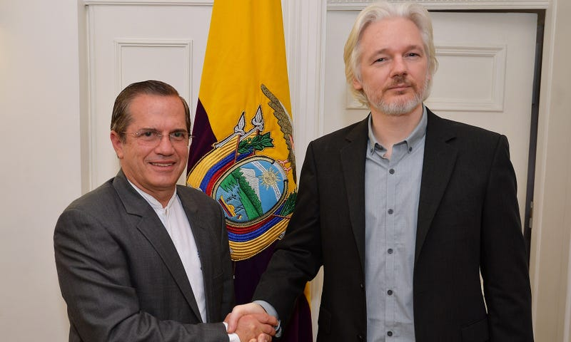 Illustration for article titled Why Won't Julian Assange Condemn Ecuador's Spying Software?