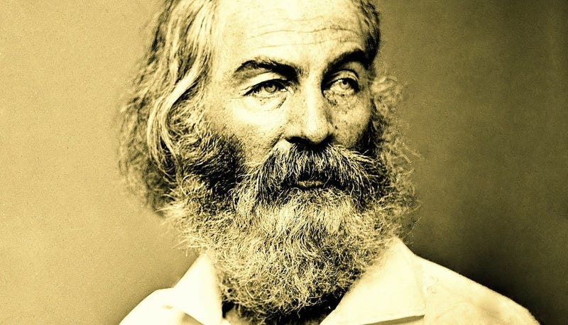 Illustration for article titled And Now, Some Walt Whitman
