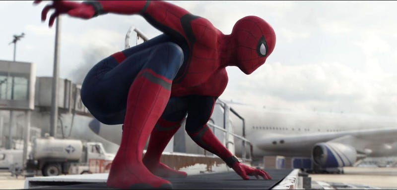 Spider-Man made his debut in Civil War, and he's getting his own in 2019. Image: Disney
