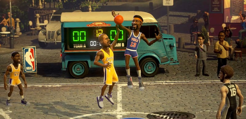 Illustration for article titled NBA Playgrounds Is Not The New NBA Jam