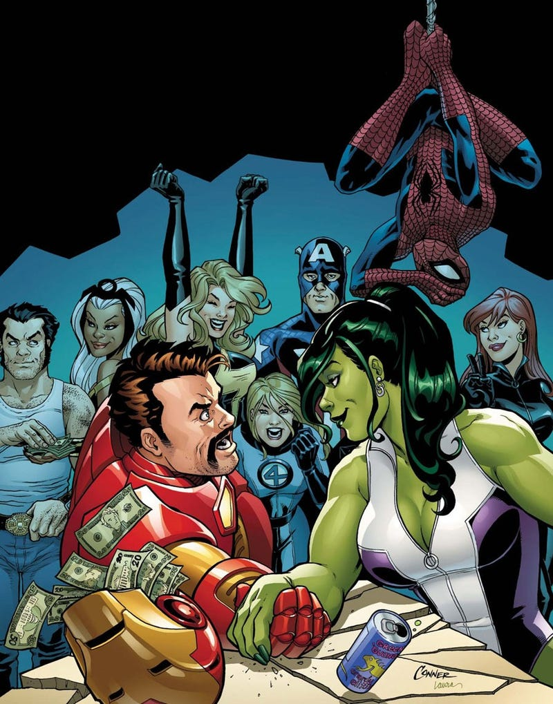 Illustration for article titled Comic Book Wednesdays: 5 Books About Kick-Ass Superheroines