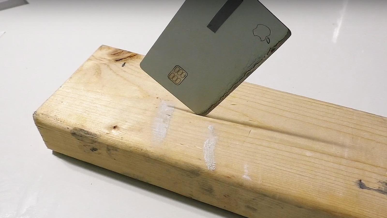 Apple Card Also an Apple Knife