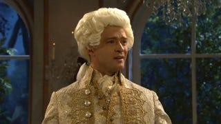Illustration for article titled Justin Timberlake Mocks Himself, Justin Bieber In Unaired SNL Sketch