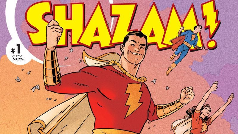 Illustration for article titled Shazam! goes old school, Avengers gets new blood, and No Mercy hits hard
