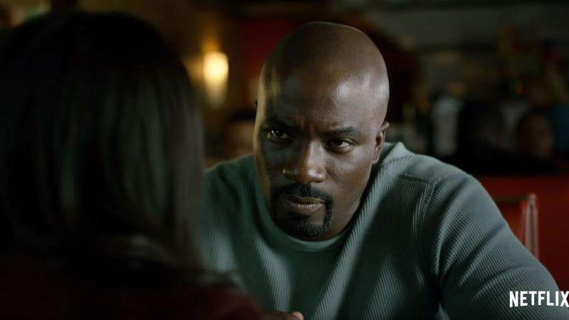 Luke Cage, one of the most popular TV heroes under Chory's tenure.