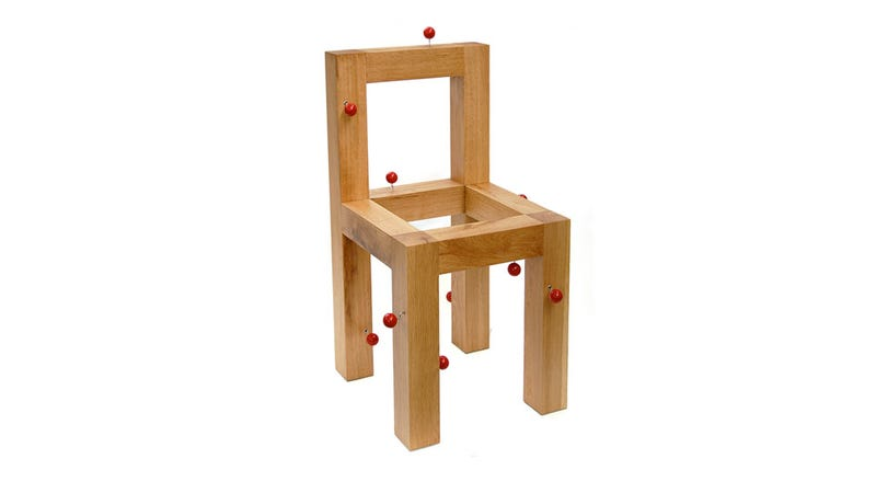 Illustration for article titled Hey, Let's Build 11 Music Boxes Into a Chair Just Because