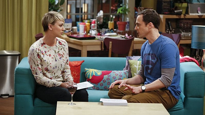 Kaley Cuoco-Sweeting, Jim Parsons