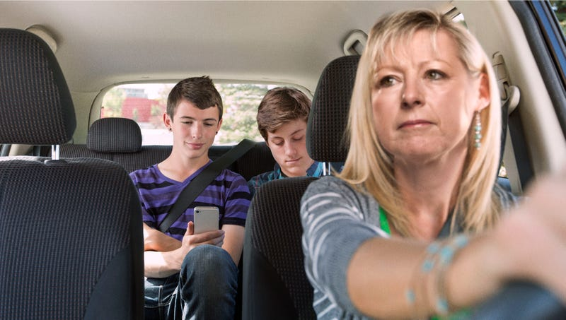 Illustration for article titled Mom Makes Sure Everyone Has Masturbated  Before Long Car Ride