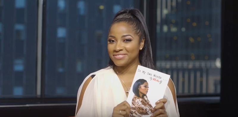 Author and TV personality Toya Wright Screenshot