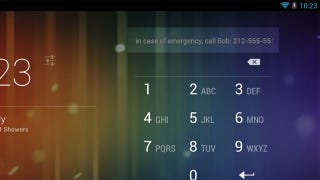 Illustration for article titled Add Emergency Contact Information to Your Phone's Lock Screen