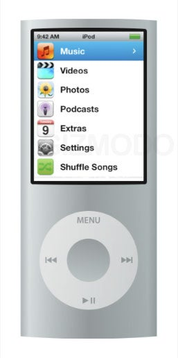 Illustration for article titled First Look at New iPod Nano Interface?