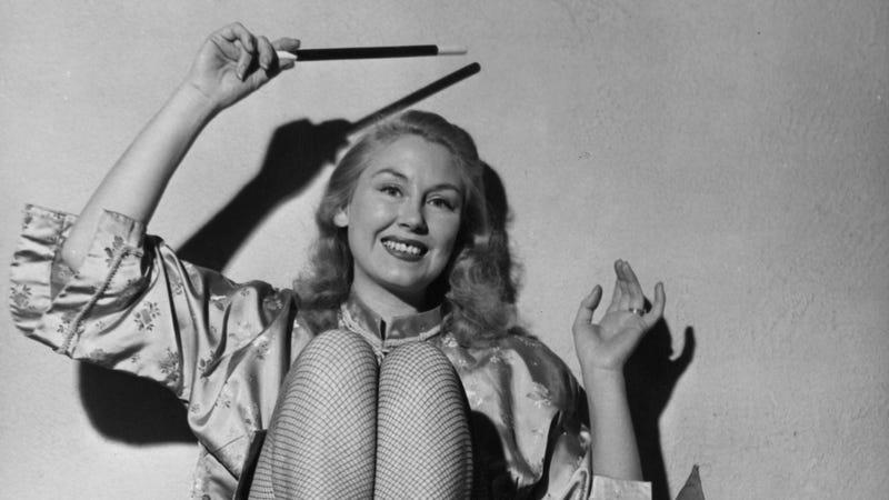Magician June McComb, 1952