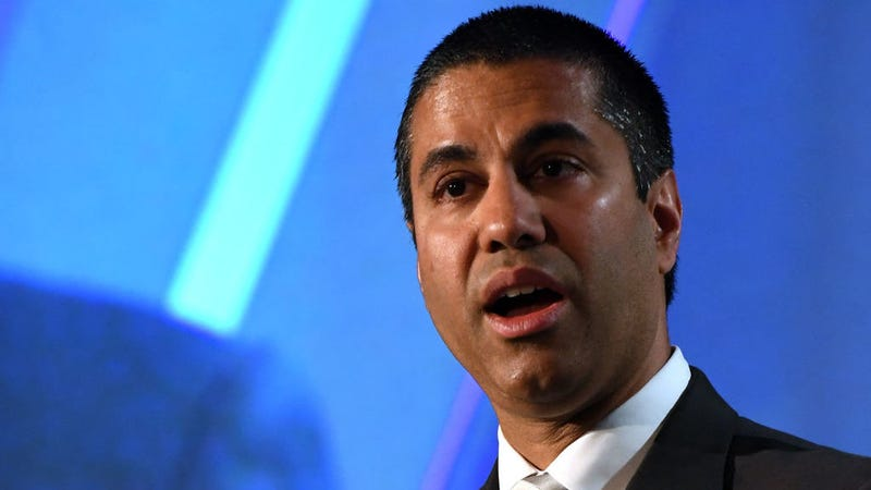 FCC Chairman Ajit Pai. (Photo: Getty)