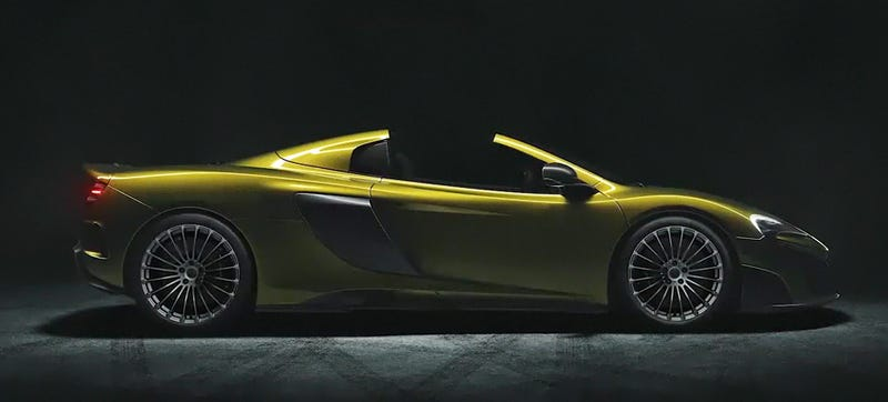 Illustration for article titled McLaren 675LT Spider: This Is It