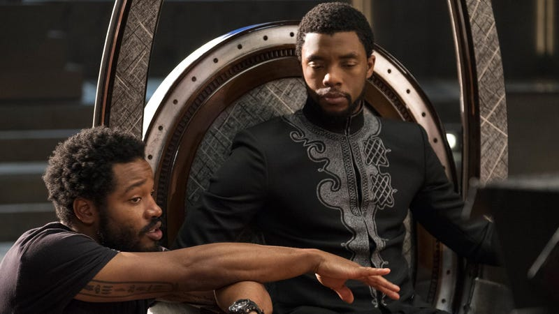 Director Ryan Coogler (left) is coming back for Black Panther 2.