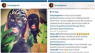Illustration for article titled Australian Fox Sports Reporter Posts Picture Of Herself In Blackface