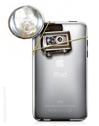 Illustration for article titled Here We Go Again: Camera Equipped iPod Touch This Spring?