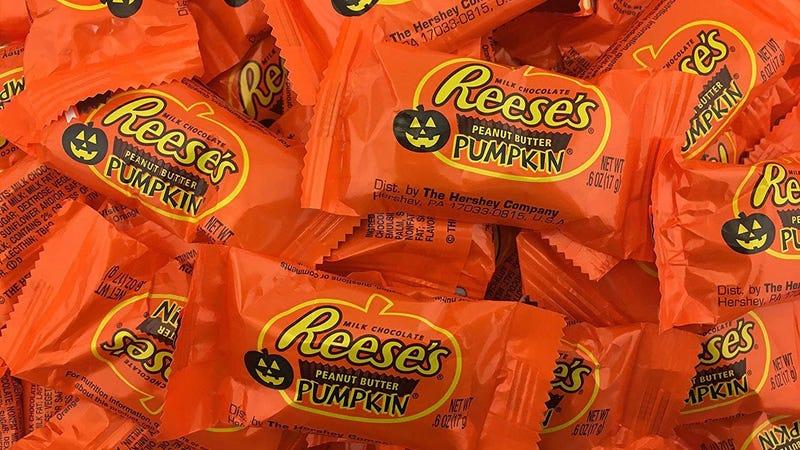 Reese'sPeanut Butter Pumpkins