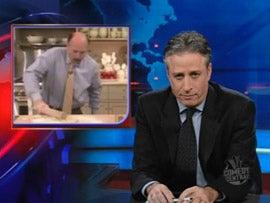 Illustration for article titled Jim Cramer vs. Jon Stewart Unedited