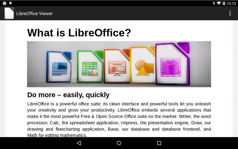 Illustration for article titled Libre Office Viewer Reads Nearly Any Office File Type