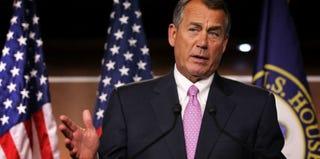 Speaker John Boehner (Alex Wong/Getty Images News)