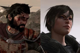 Illustration for article titled Dragon Age II's Hero Cleans Up, Becomes Female Real Nice
