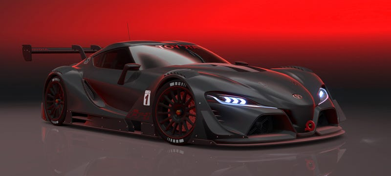 Illustration for article titled Toyota FT-1 Vision GT: The Racing Supra You All Know You Want