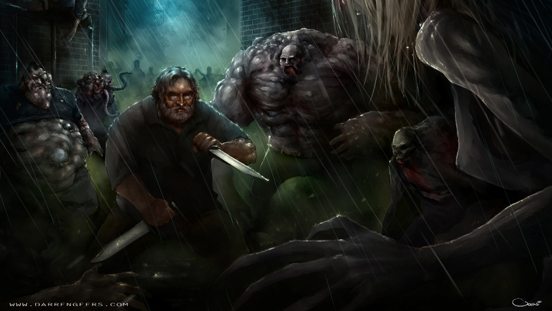 Illustration for article titled The Coolest, Weirdest Gabe Newell Fan Art We Could Find