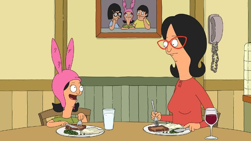 "Illustration for article titled Bob's Burgers: ""Slumber Party"""