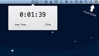 Illustration for article titled Timebar Turns Your Mac's Menubar into a Timer