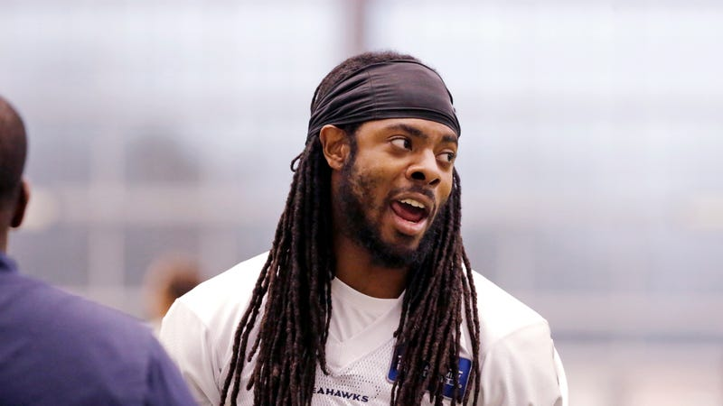 Illustration for article titled Richard Sherman Runs Through The List Of NFL QBs Who Are Worse Than Colin Kaepernick