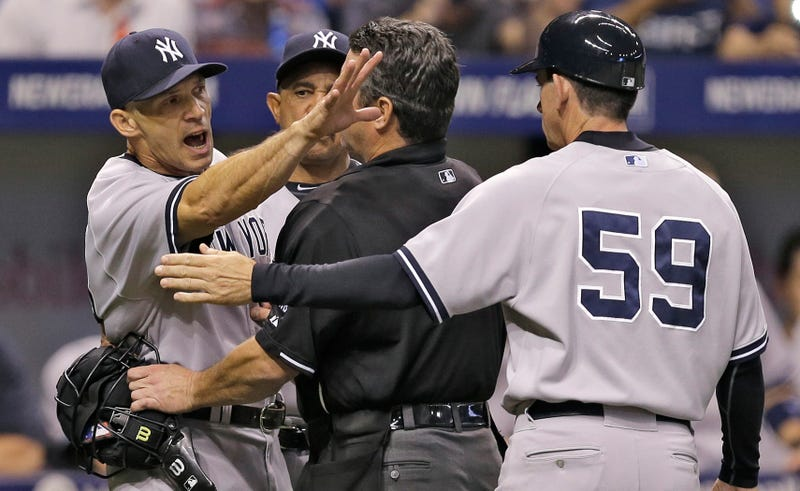Illustration for article titled Joe Girardi Says Rays Pitchers Aren't Good Enough To Safely Pitch Inside
